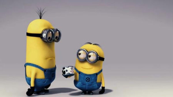 The minions of 'Despicable Me'