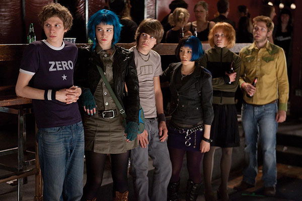 Michael Cera and Mary Elizabeth Winstead in 'Scott Pilgrim vs. the World'