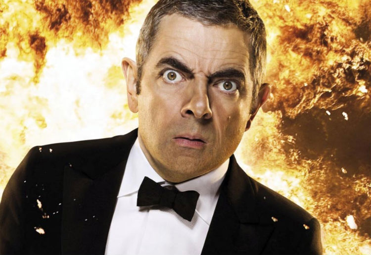Rowan Atkinson in 'Johnny English Reborn' (Universal Pictures)