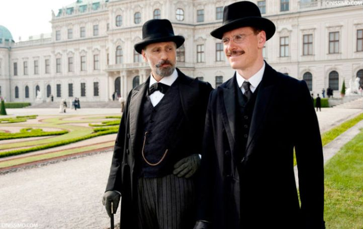 Viggo Mortensen and Michael Fassbender in 'A Dangerous Method' (Sony Pictures Classics)