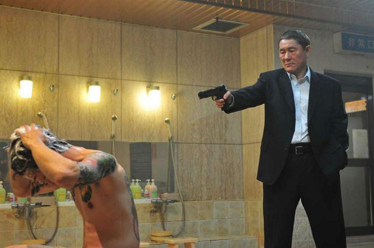 Takeshi Kitano in 'Outrage'