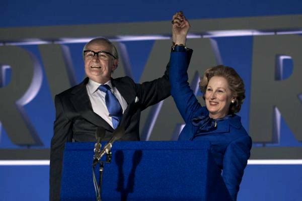 Jim Broadbent and Meryl Streep in 'The Iron Lady'
