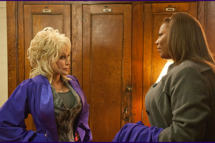 Dolly Parton and Queen Latifah in 'Joyful Noise'
