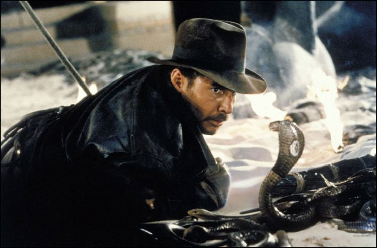 Harrison Ford in Steven Spielberg's 'Raiders of the Lost Ark' (Paramount)