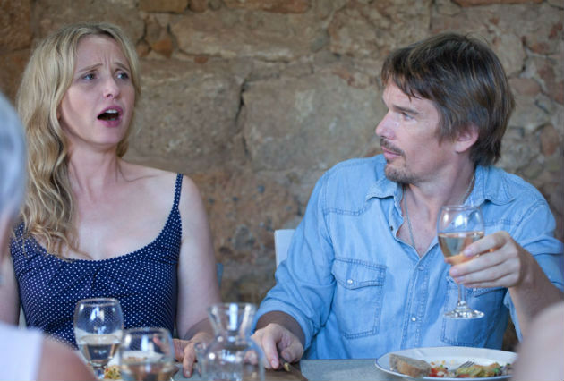 Julie Delpy and Ethan Hawke in Richard Linklater's 'Before Midnight'