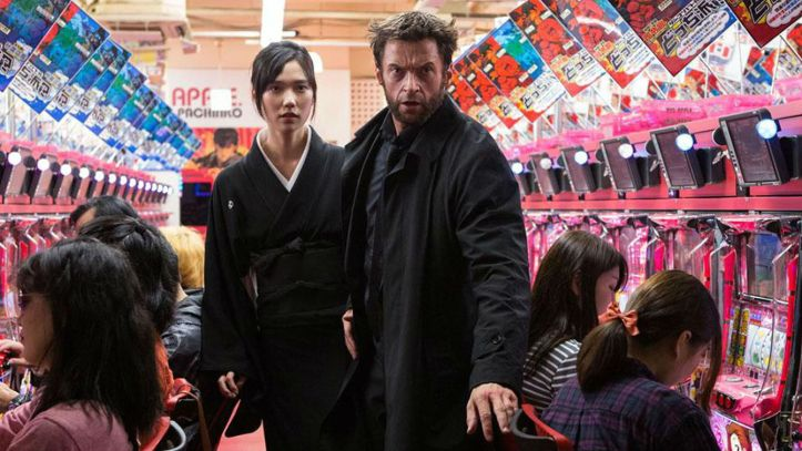 Hugh Jackman and Tao Okamoto in 'The Wolverine' (20th Century Fox)