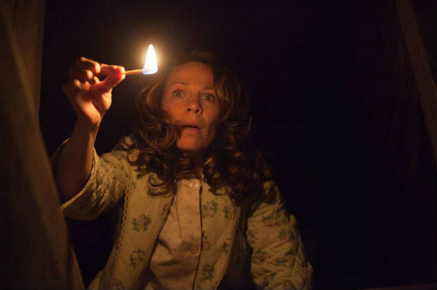 Lilly Taylor in 'The Conjuring'