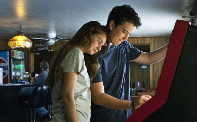 Miles Teller and Shailene Woodley in 'The Spectacular Now'