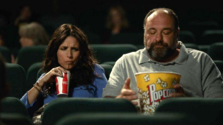 James Gandolfini and Julia Louise-Dreyfuss in 'Enough Said' (Fox Searchlight)