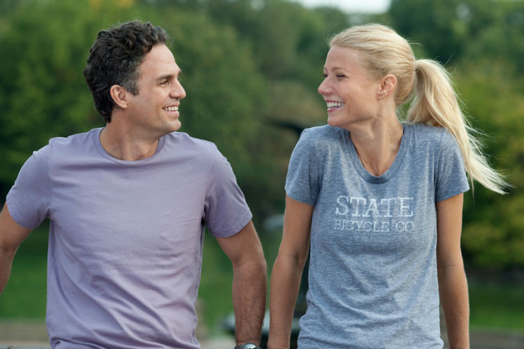 Mark Ruffalo and Gwyneth Paltrey in 'Thanks for Sharing'