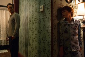 Patrick Wilson and Ty Simpkins in 'Insidious: Chapter 2' (Film District)