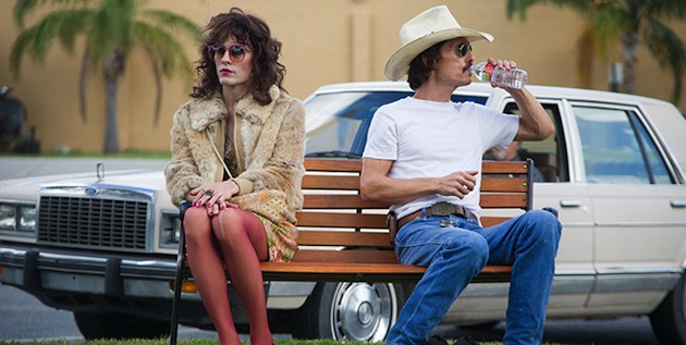 Matthew McConaughey and Jared Leto in 'Dallas Buyers Club' (Focus Features)