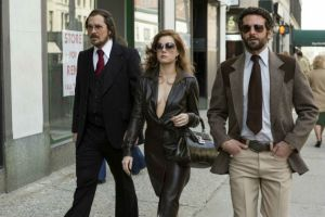 Christian Bale, Amy Adams, and Bradley Cooper in 'American Hustle'