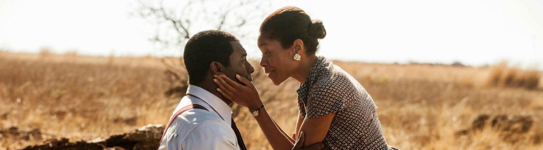 Idris Elba and Naomie Harris in 'Mandela: Long Walk to Freedom'