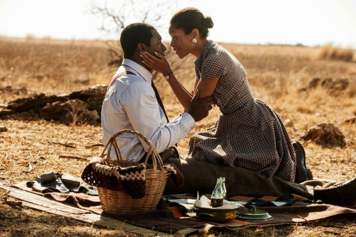 Idris Elba and Naomie Harris in 'Mandela: Long Walk to Freedom'