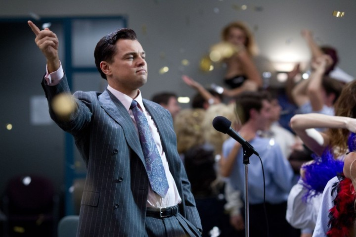 Leonardo DiCaprio in Martin Scorsese's 'The Wolf of Wall Street'