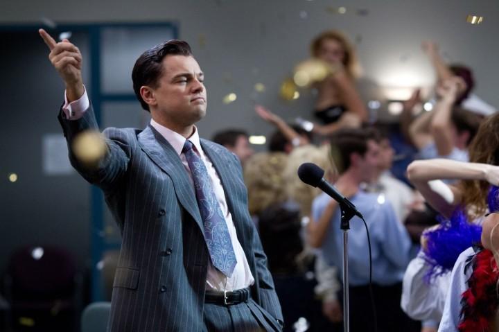 Leonardo DiCaprio in Martin Scorsese's 'The Wolf of Wall Street'