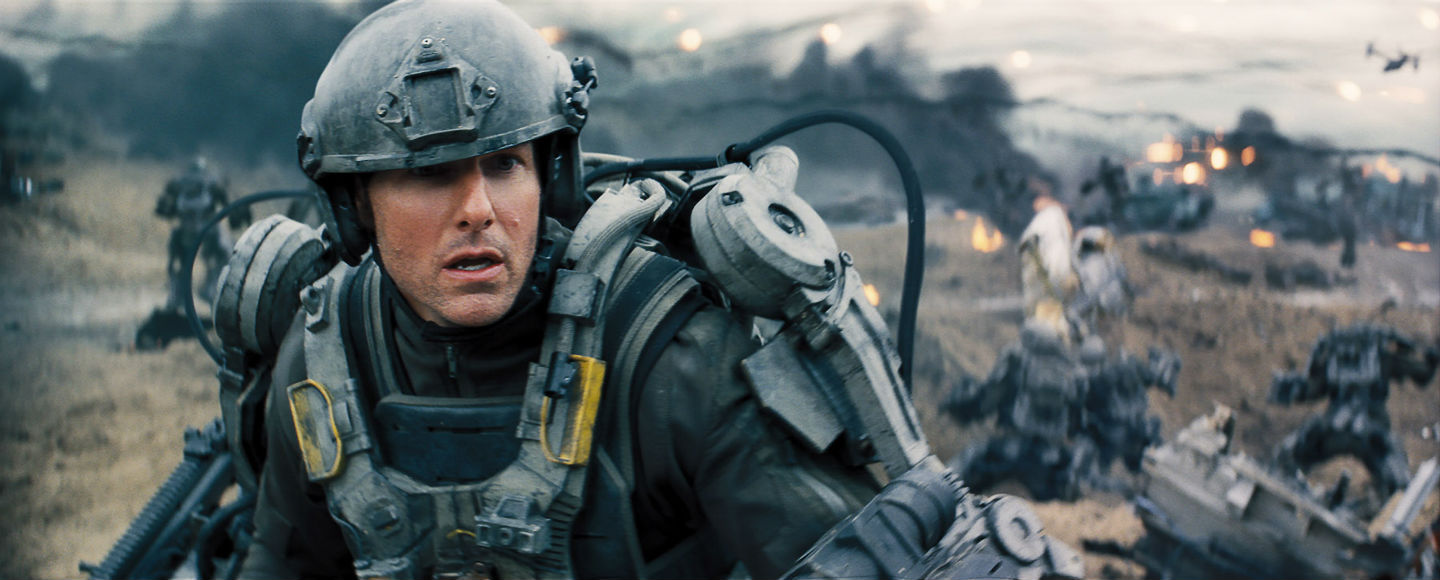 Tom Cruise in 'Edge of Tomorrow' (Warner Bros.)