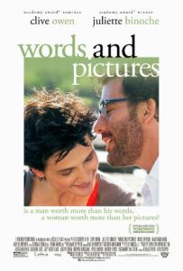 Clive Owen and Juliette Binoche in 'Words and Pictures'