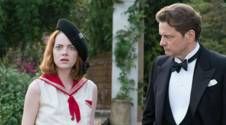 Emma Stone and Colin Firth in Woody Allen's 'Magic in the Moonlight'