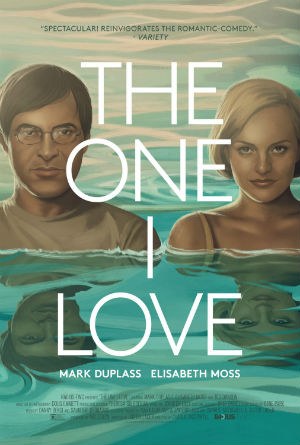 Elisabeth Moss and Mark Duplass in 'The One I Love'