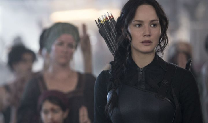 Jennifer Lawrence in 'The Hunger Games: Mockingjay - Part 1'