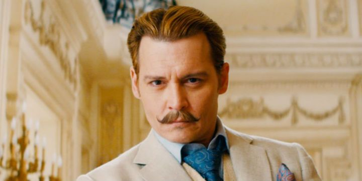 Johnny Depp in 'Mortdecai'