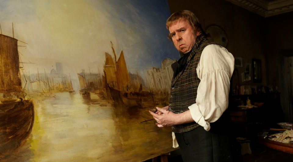 Timothy Spall in 'Mr. Turner' (Dallas Film Now)