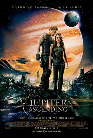 Mila Kunis and Channing Tatum in 'Jupiter Ascending'